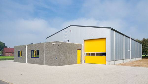 Architecture design for Warehouse Buildings