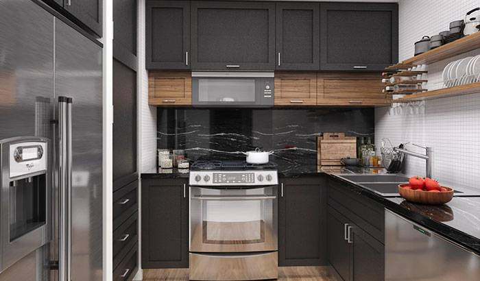 Architecture and Structural Engineering for the kitchen and bathroom remodel of a condo unit at San Jose, CA.
