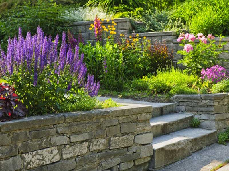 Annapolis Retaining Wall And Garden Wall Construction