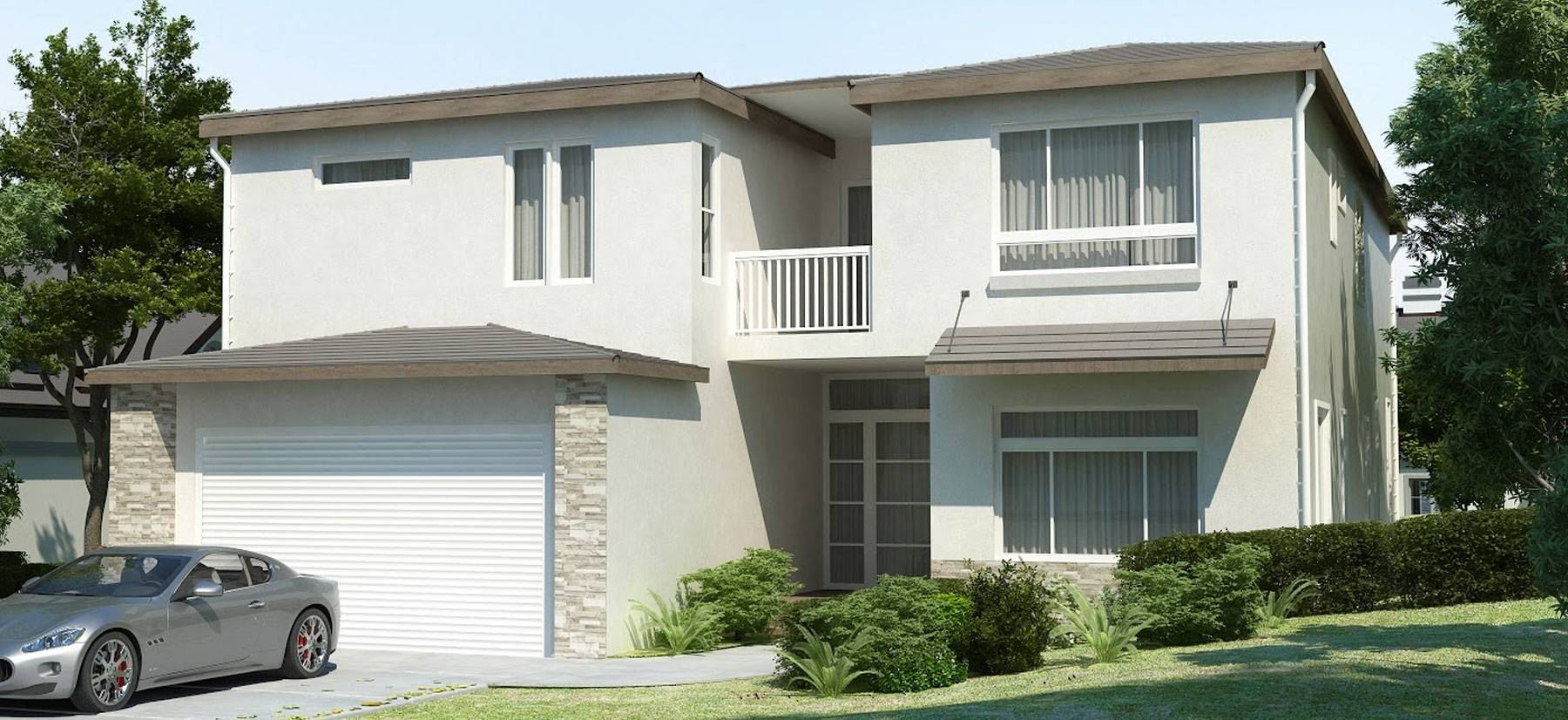 sample single-family housing project by the City government of Riverside