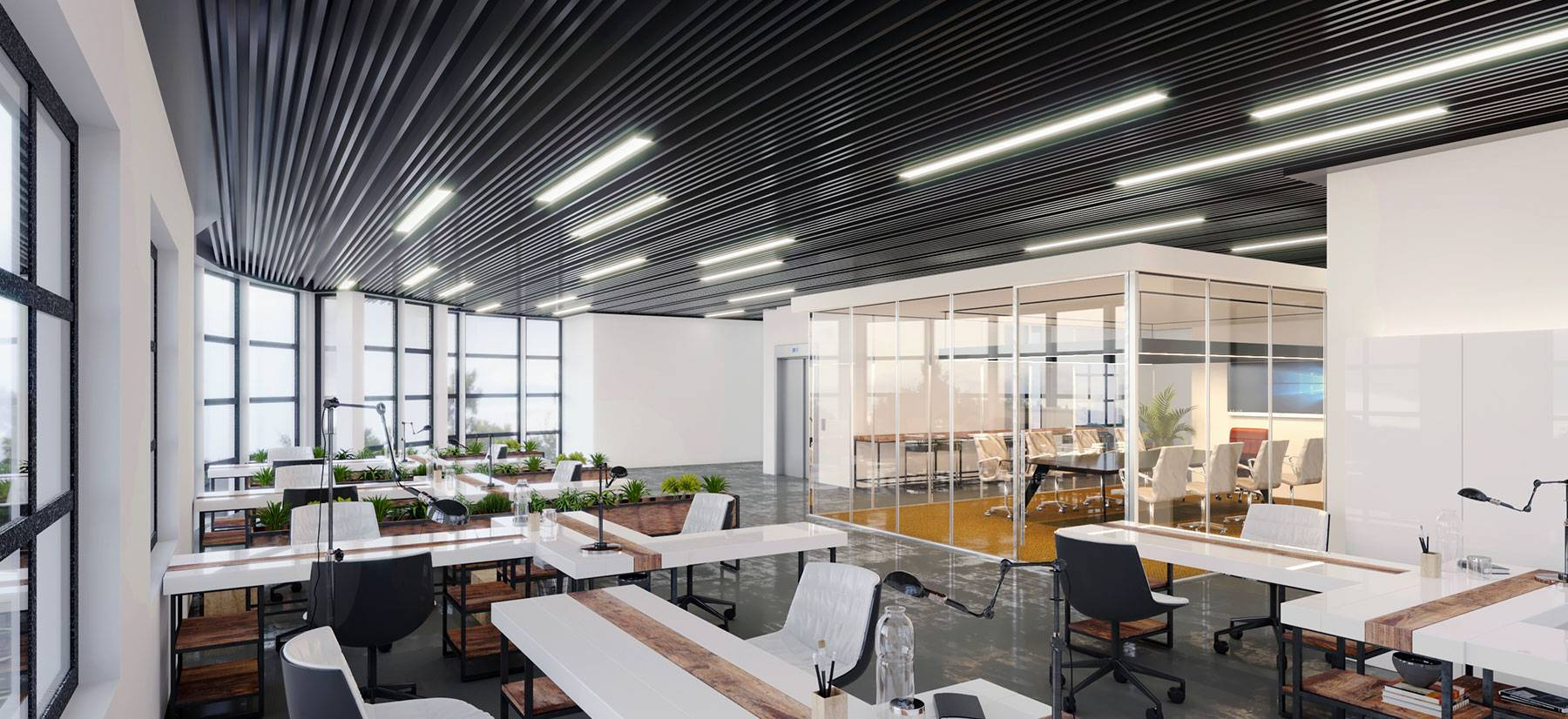 sample office project by the City government of Riverside