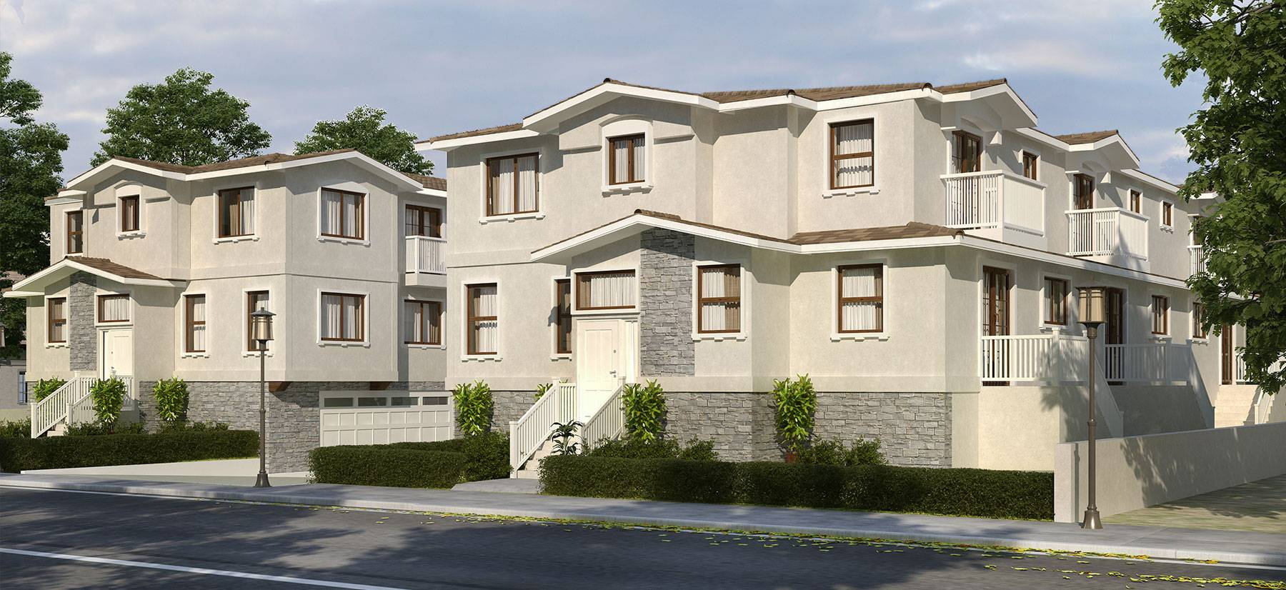 sample multi-family housing project by the City government