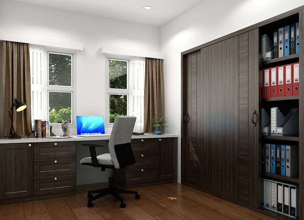 Architectural and structural plan and design of a study room in San Jose