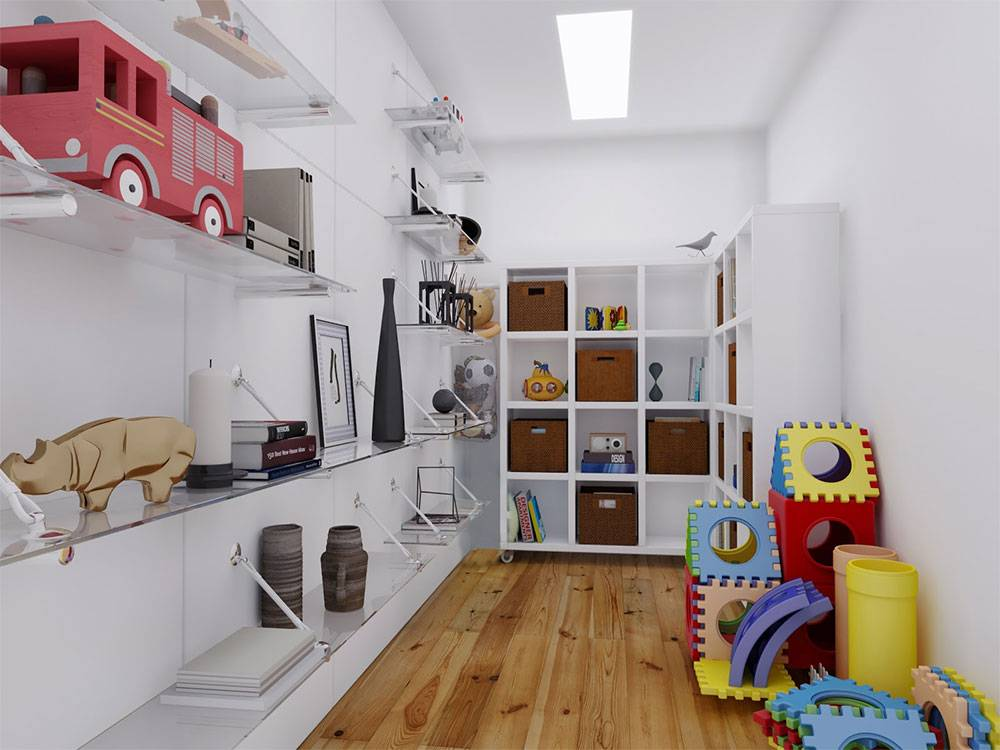 top view of the architectural design of a six-unit townhouse with garage space in all