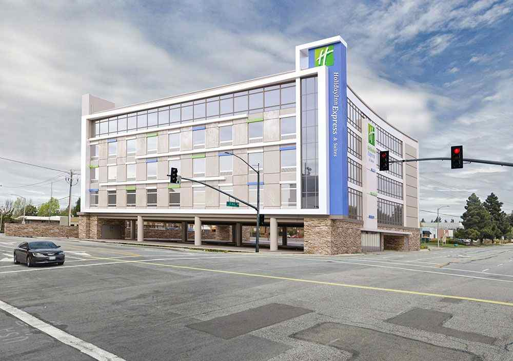 Architecture plans and  Design for holiday inn hotel
