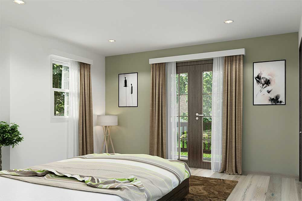 modern home architect of a house with 4 beds and 3 bathrooms                                 modern home architecture plans with beds and bathrooms