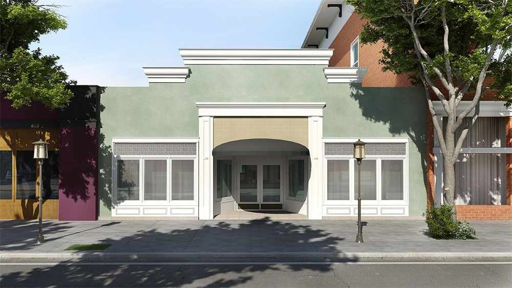 Architectural Drawing and Structural Engineering for a Seismic Retrofit of a  commercial Retail Outlet