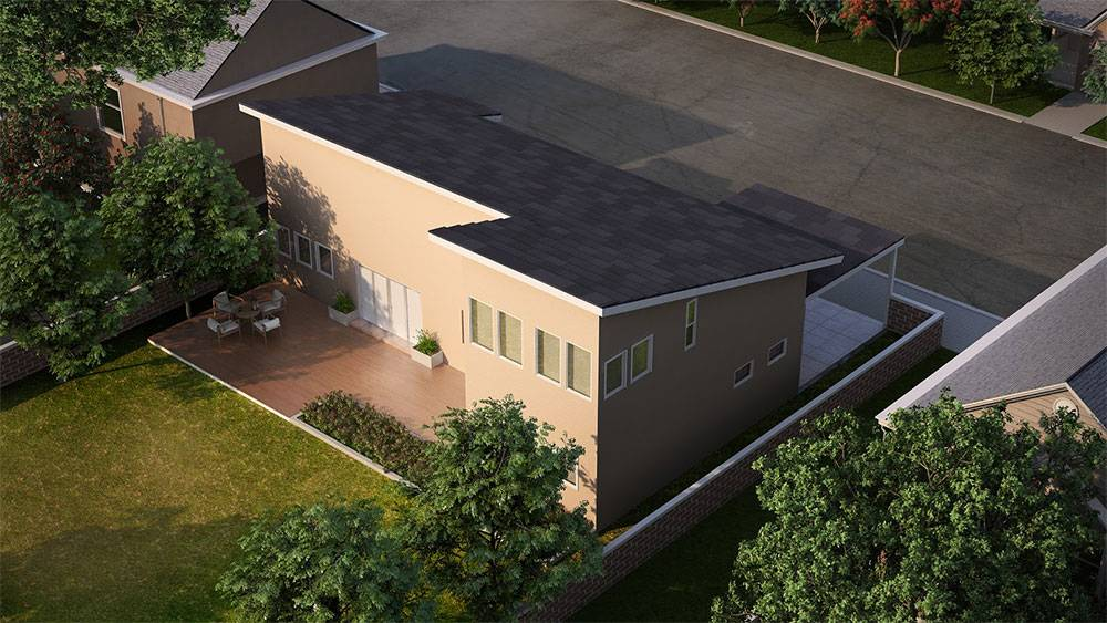 Architectural Plan for an addition and remodeling of a Modern House