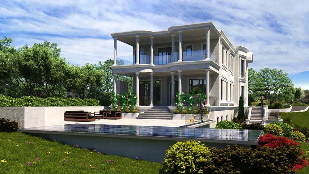 Residential Civil Engineering Plan and Design for a multistory new custom home